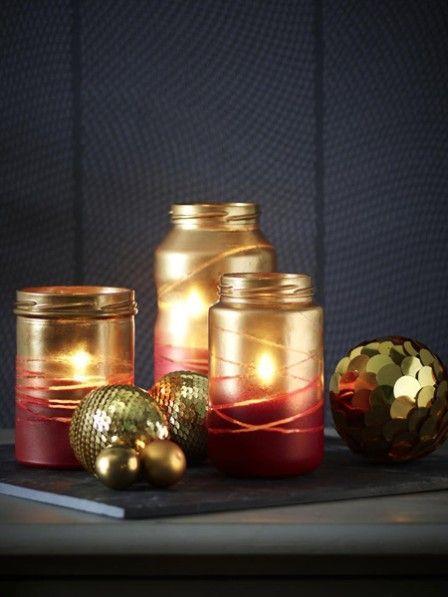DIY-Tipp: Weihnachtliche Windlichter | Wunderweib