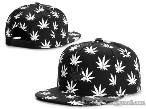 Cannabis leaf Cayler   Sons Snapback Hats Black White b93ebb1d52e