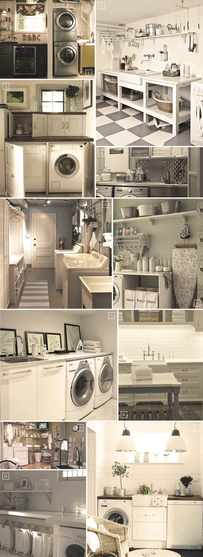 design ideas for that perfect basement laundry room Pinterest Laundry Room Decor Small Laundry Room Ideas
