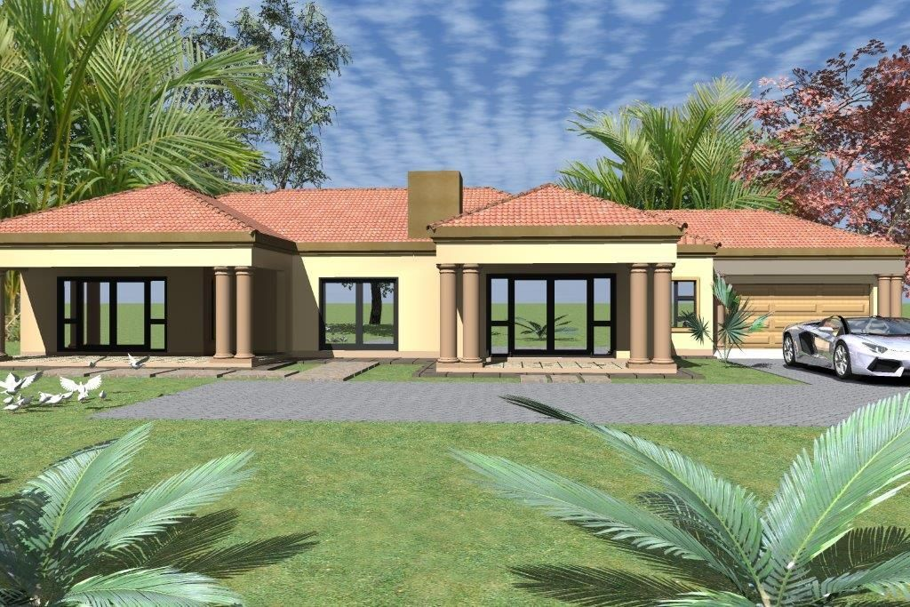 A w1714 in 2020 House plans south africa, My house plans