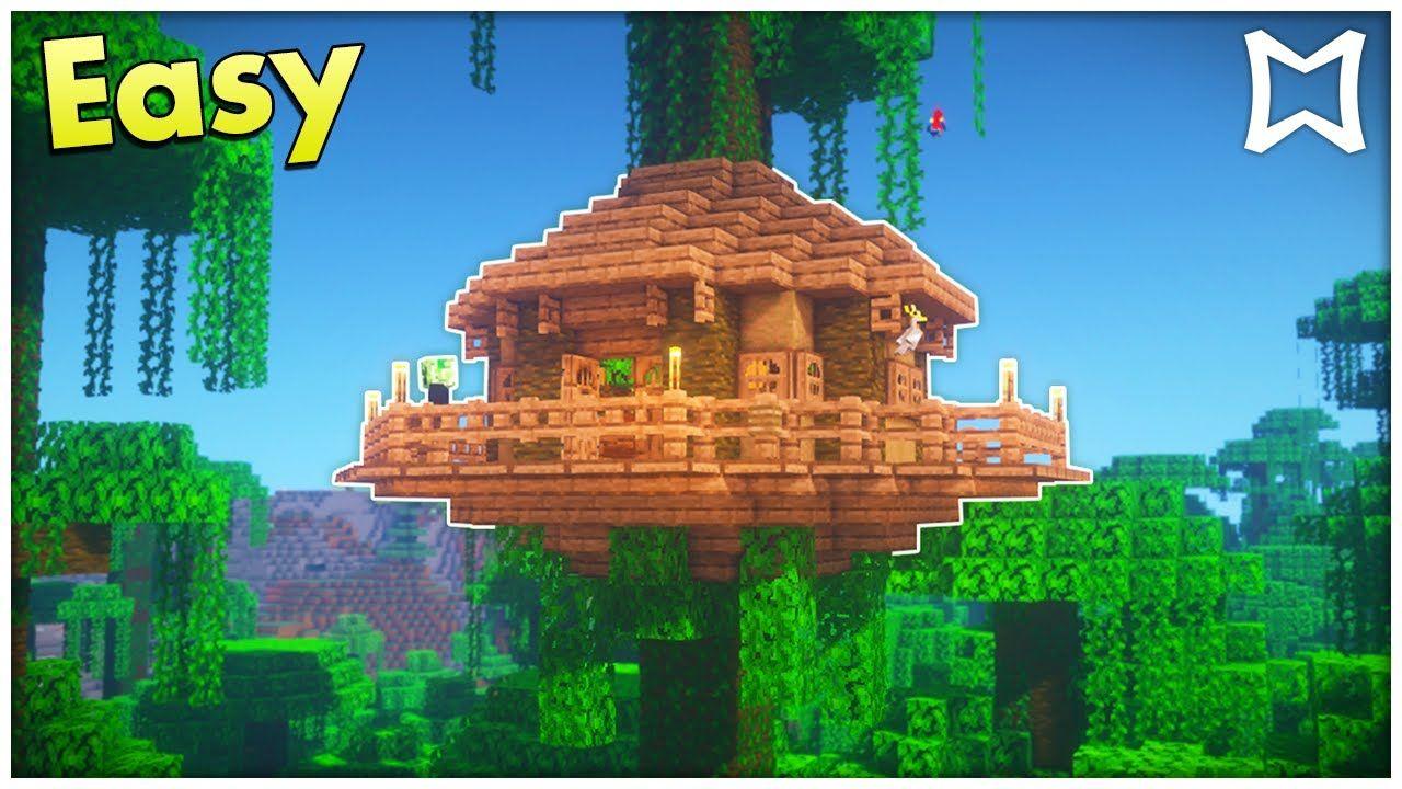 Pin by Luska9 on Random  Minecraft jungle house, Minecraft
