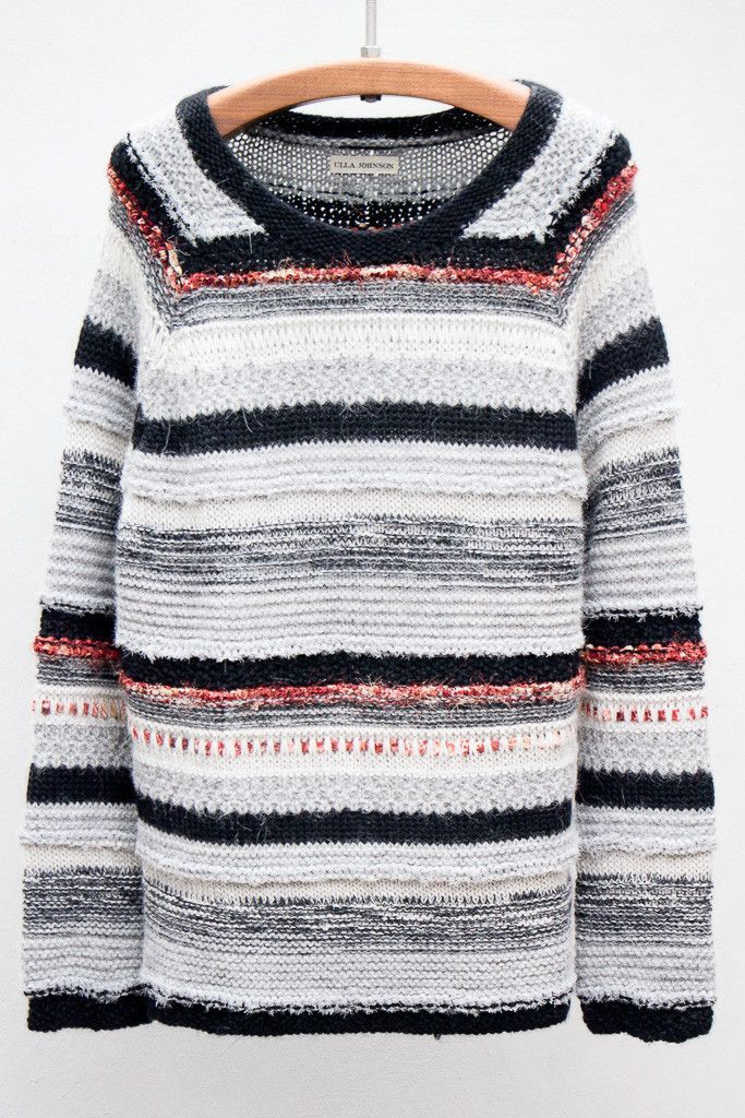 Online Shop Plus Size Spell Color Pullover Knit Sweaters