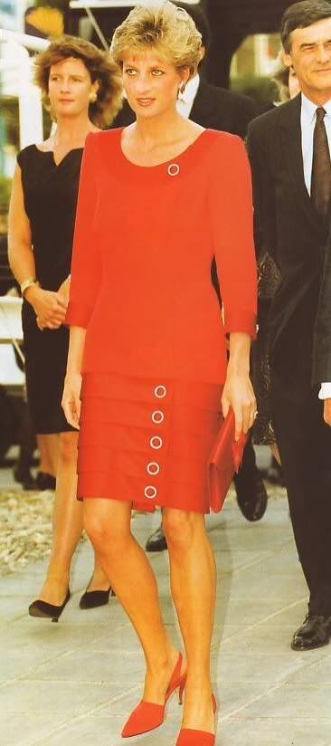 May 1992 (day two evening, Tour of Spain) Princess Diana