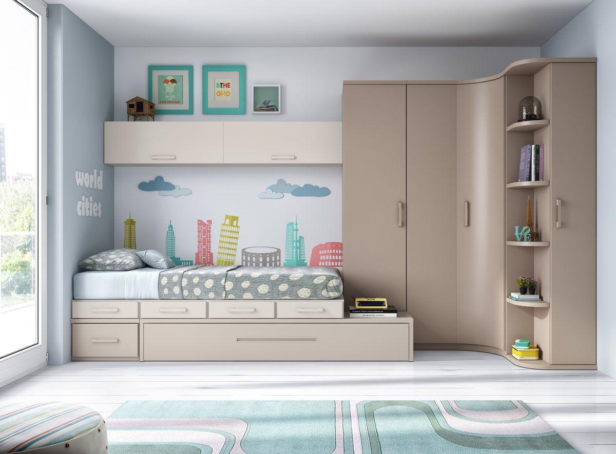 Resultado de imagen de dormitorio juvenil | quartos | Pinterest ...