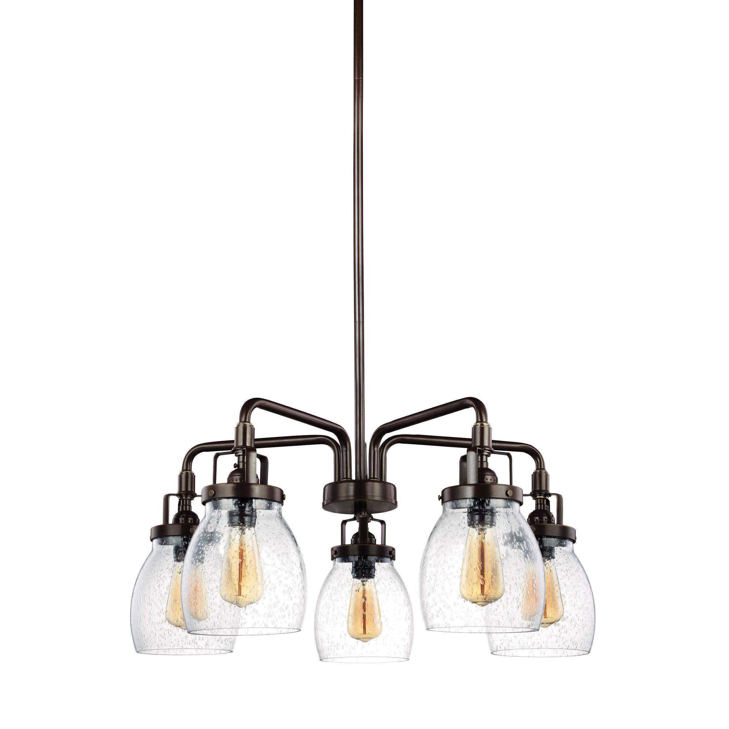 Trent Austin Design Seiling 5 Light Candle Chandelier