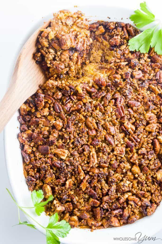 Low Carb Sweet Potato Casserole Healthy Sweet Potato Casserole