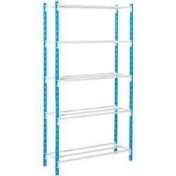 Photo of Manorga heavy duty shelf gray / blue