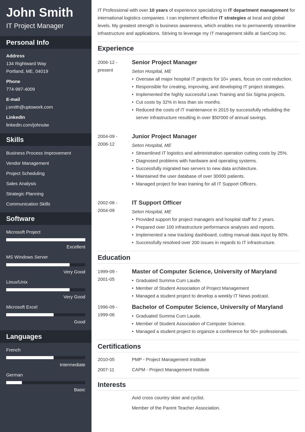 Cv Template Online Resume Format Resume Examples Downloadable Resume Template Resume Templates