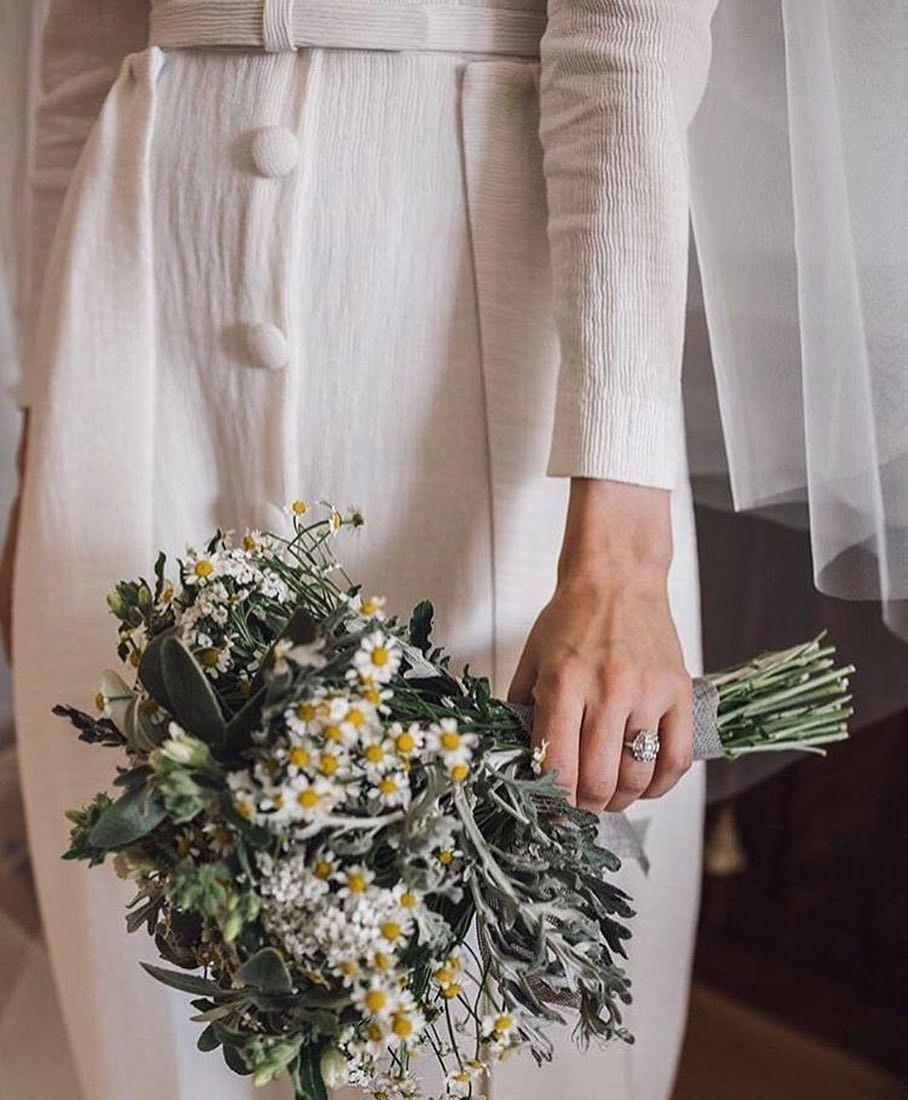 ramo margaritas novia