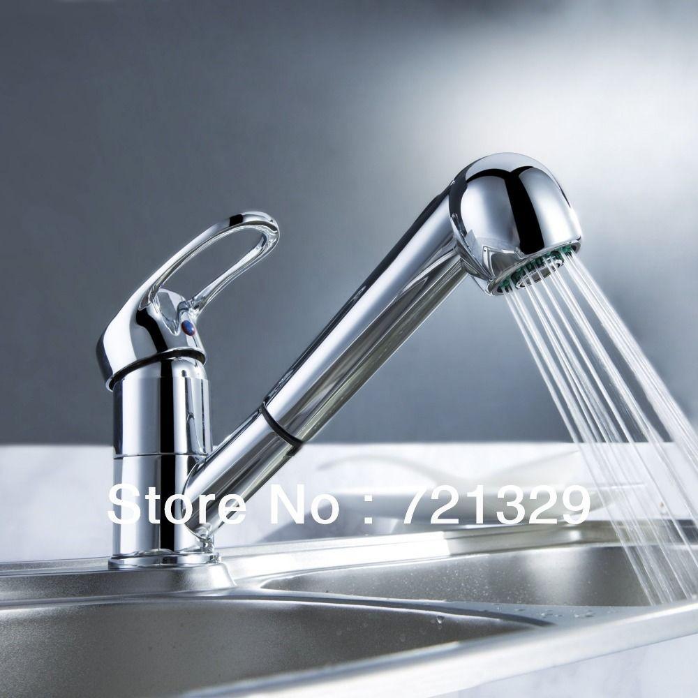 Fashion-Polished-Chrome-Finished-Pull-Out-Spout-bathroom-basin ...