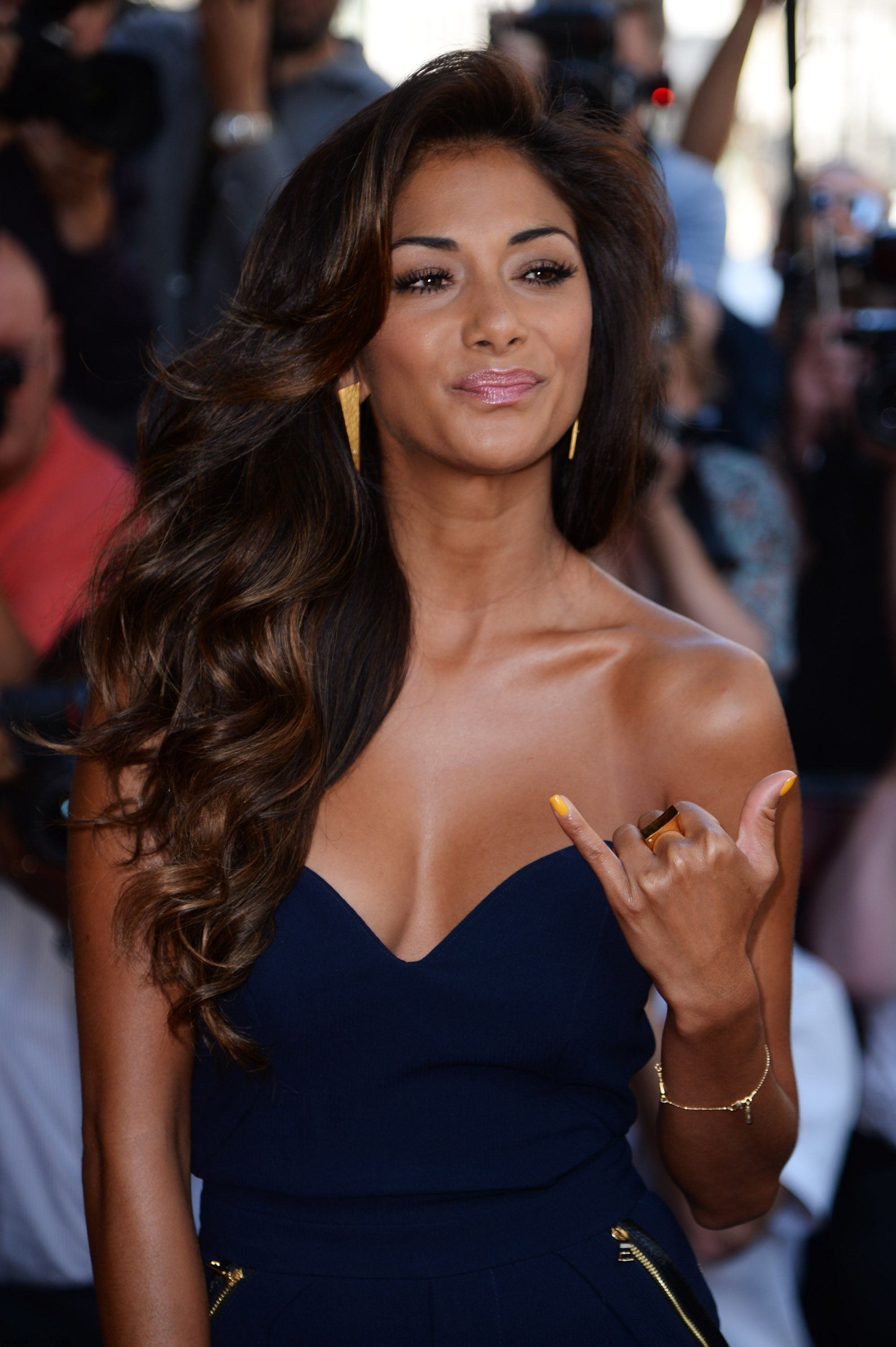 Nicole Scherzinger, hair and makeup perfection. | Lovely ... Nicole Scherzinger