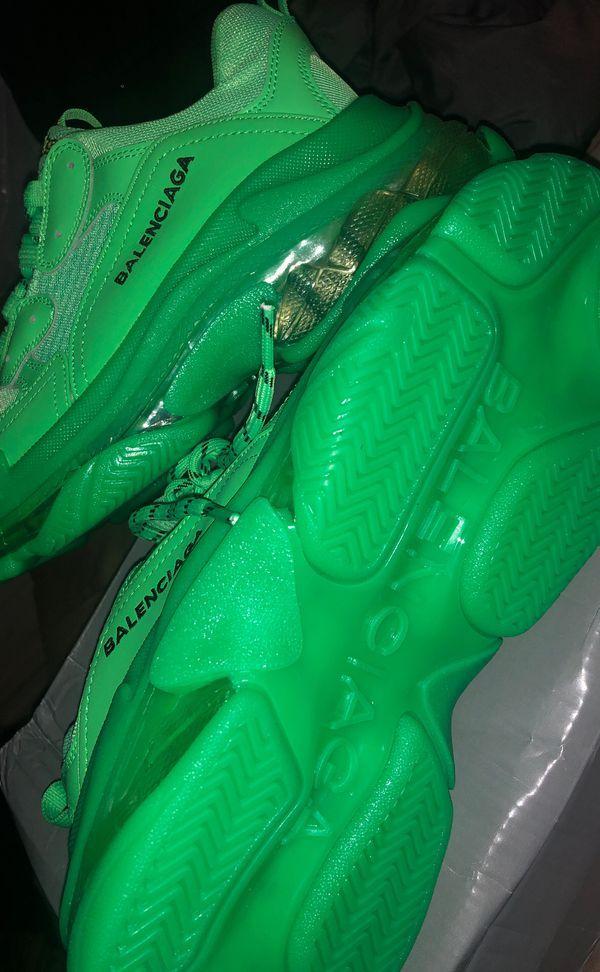 Balenciaga Triple S Slime Green SZ 41(9