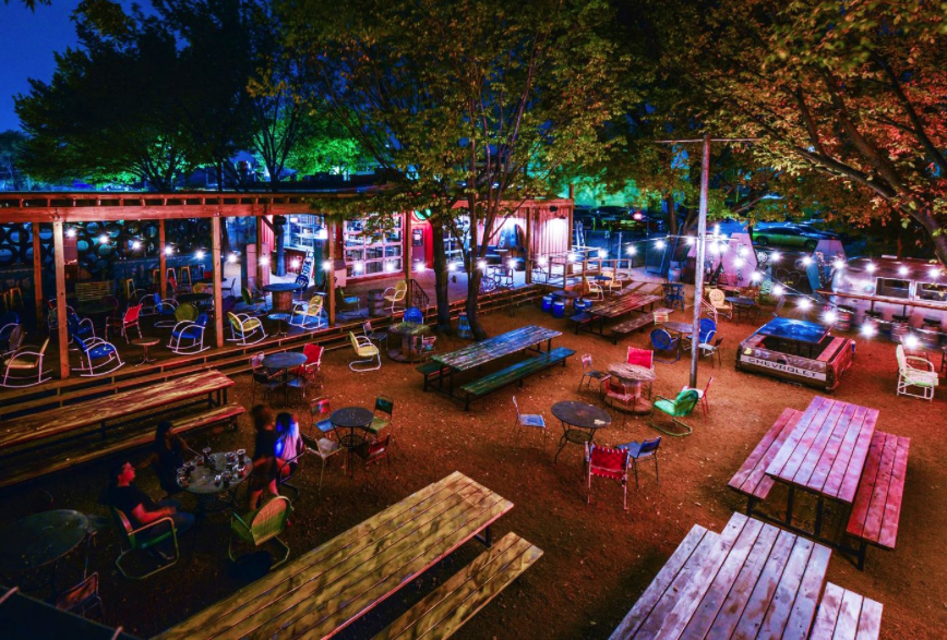 Terez is all about Truckyard Food park, Outdoor