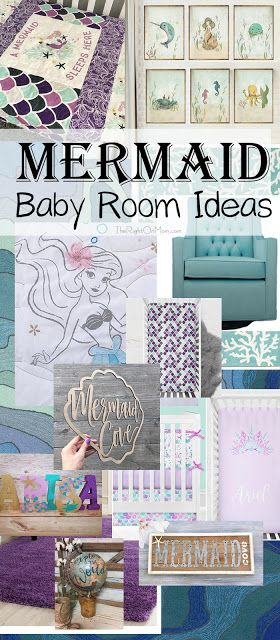Little Mermaid Baby Room Ideas Little Mermaid Room Baby Room Themes Girls Nursery Mermaid