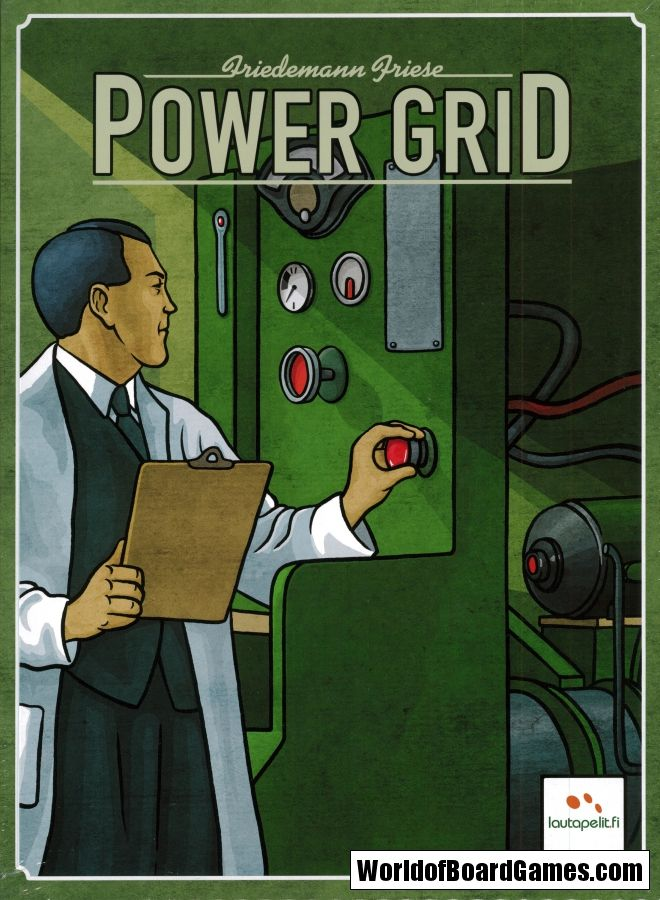 Power Grid Jogos De Tabuleiro Jogos