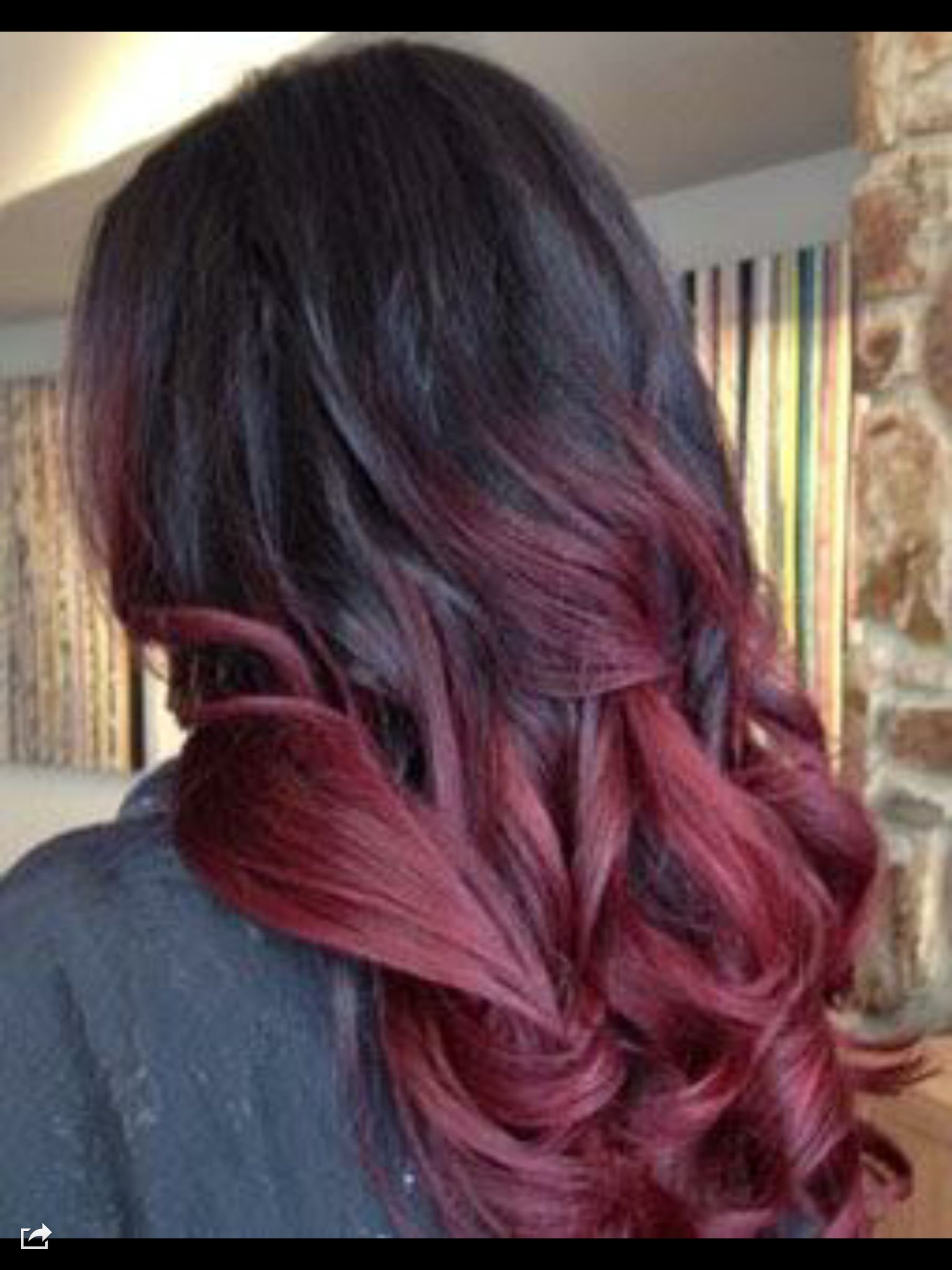 Ombr Magenta Hair Style Ideas Pinterest Hair Coloring Hair Style And Awesome Hair