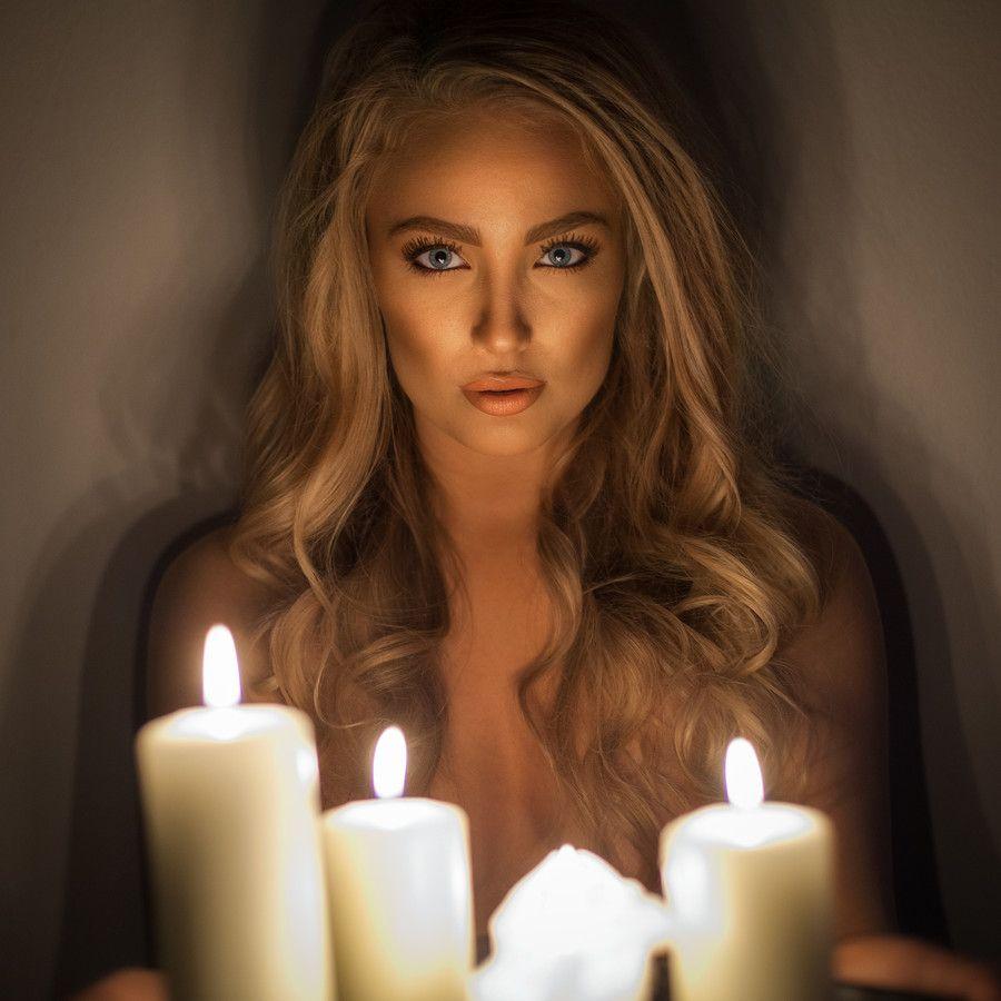 Как сфотографировать портрет со свечой