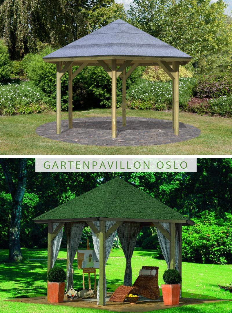 Karibu Gartenpavillon Oslo 2 Garten Pavillon Garten Holz Pavillon