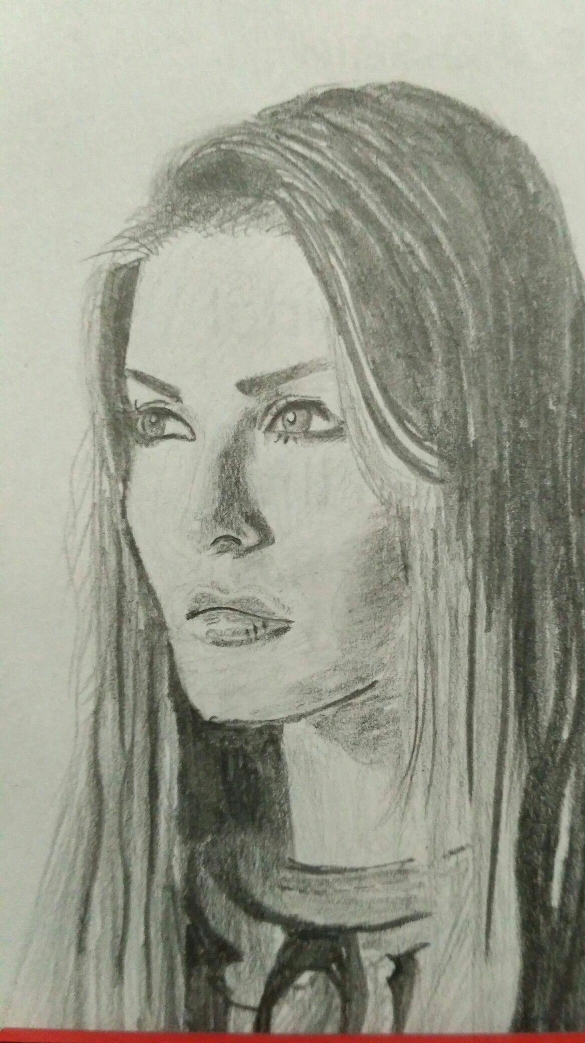 Sunny leone face sketch made through pencil by avinash kumar
