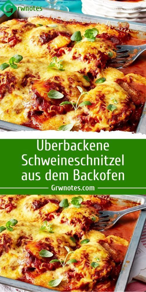 Photo of Baked pork schnitzel from the oven Ingredients 1.2 kg Schw …