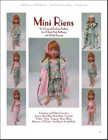 "/""Soupir Printanier/"" BJD Ball Jointed Doll Fashion Clothing Pattern 60 cm 24/"""