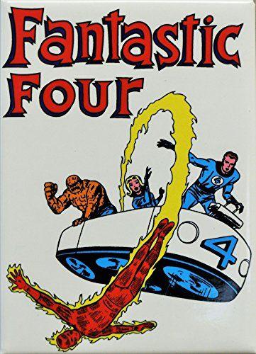 FANTASTIC FOUR MARVEL FRIDGE MAGNET