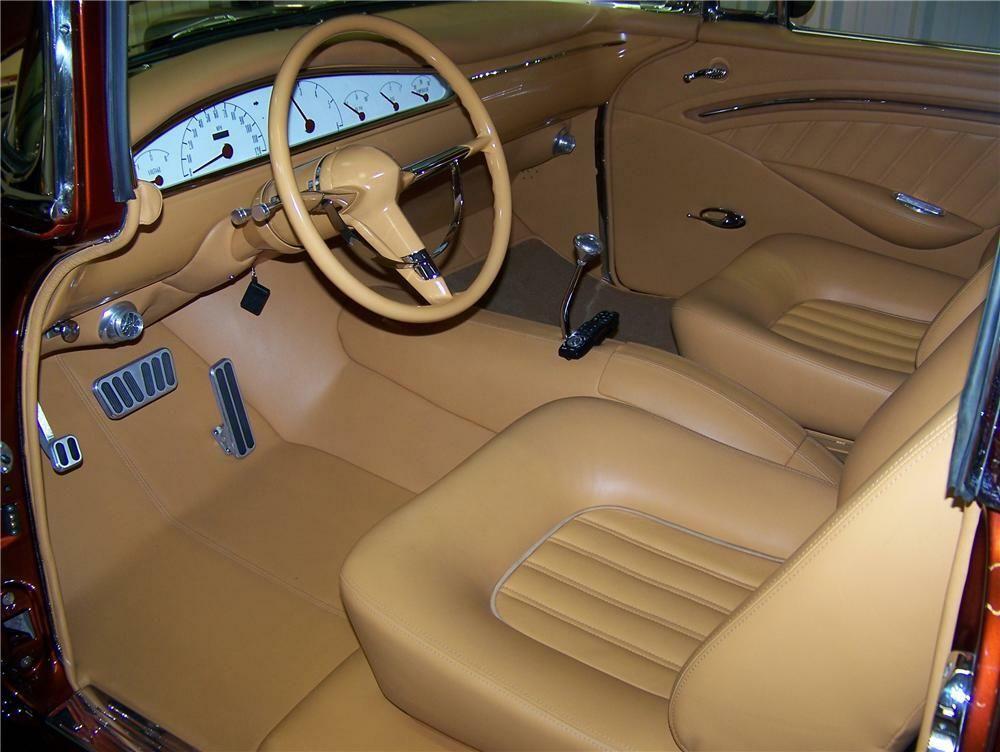 1956 Chevrolet Bel Air Custom 2 Door Hardtop In 2020 Chevrolet Bel Air Custom Car Interior Bel Air