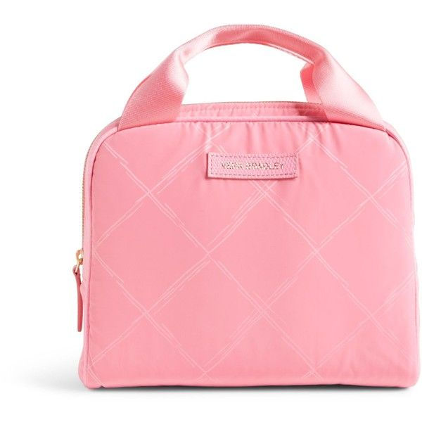 19d5e07eac Vera Bradley Preppy Poly Lunch Cooler in Blossom Pink ( 27) ❤ liked on  Polyvore