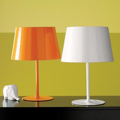 White Lamp Land Of Nod Metal Table Lamps Lamp Bedside Table Lamps