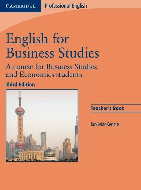 English for business studies teachers book a course for business english for business studies teachers book a course for business studies and economics students author ian mackenzie fandeluxe Images
