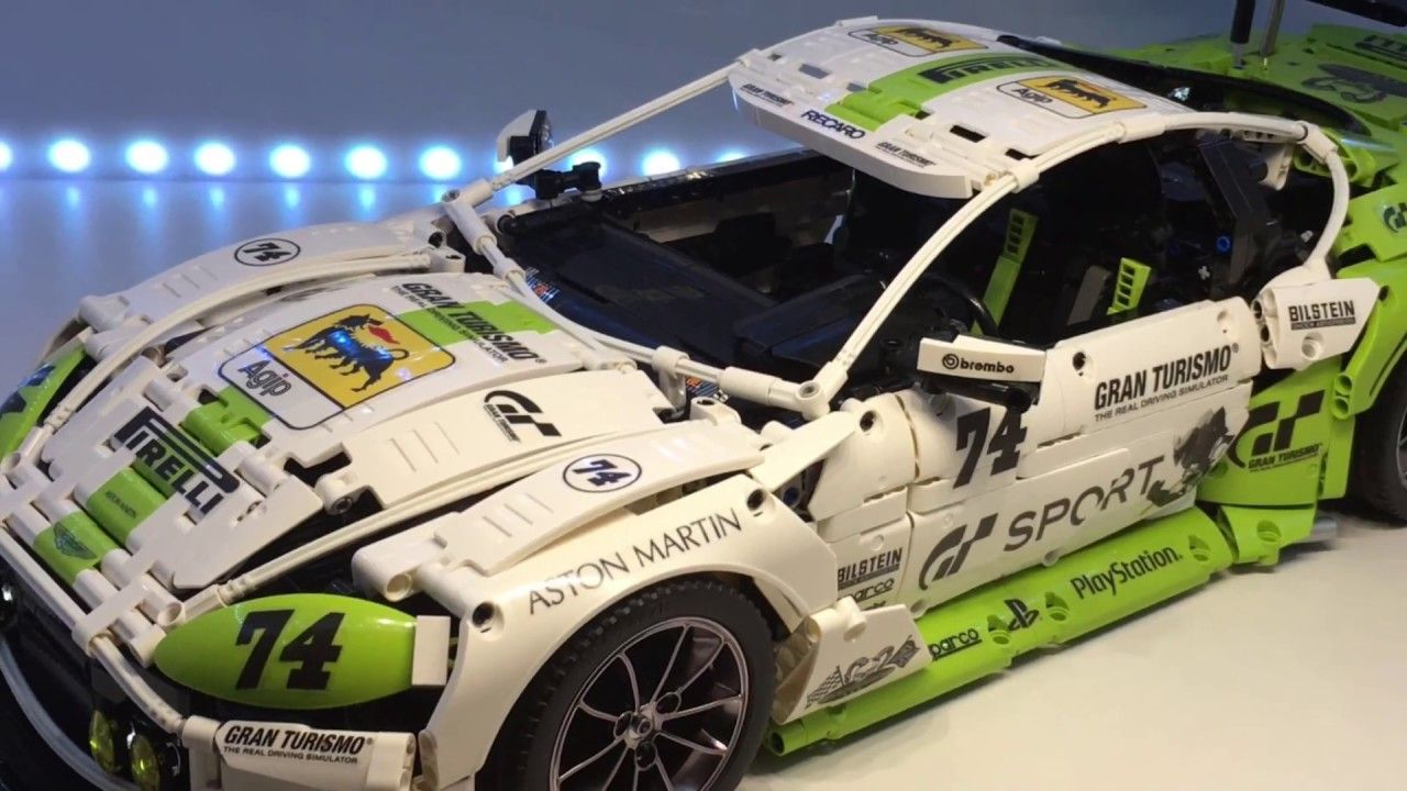 Lego Aston Martin Vantage Gt3 Moc Legos Lego Lego Creations