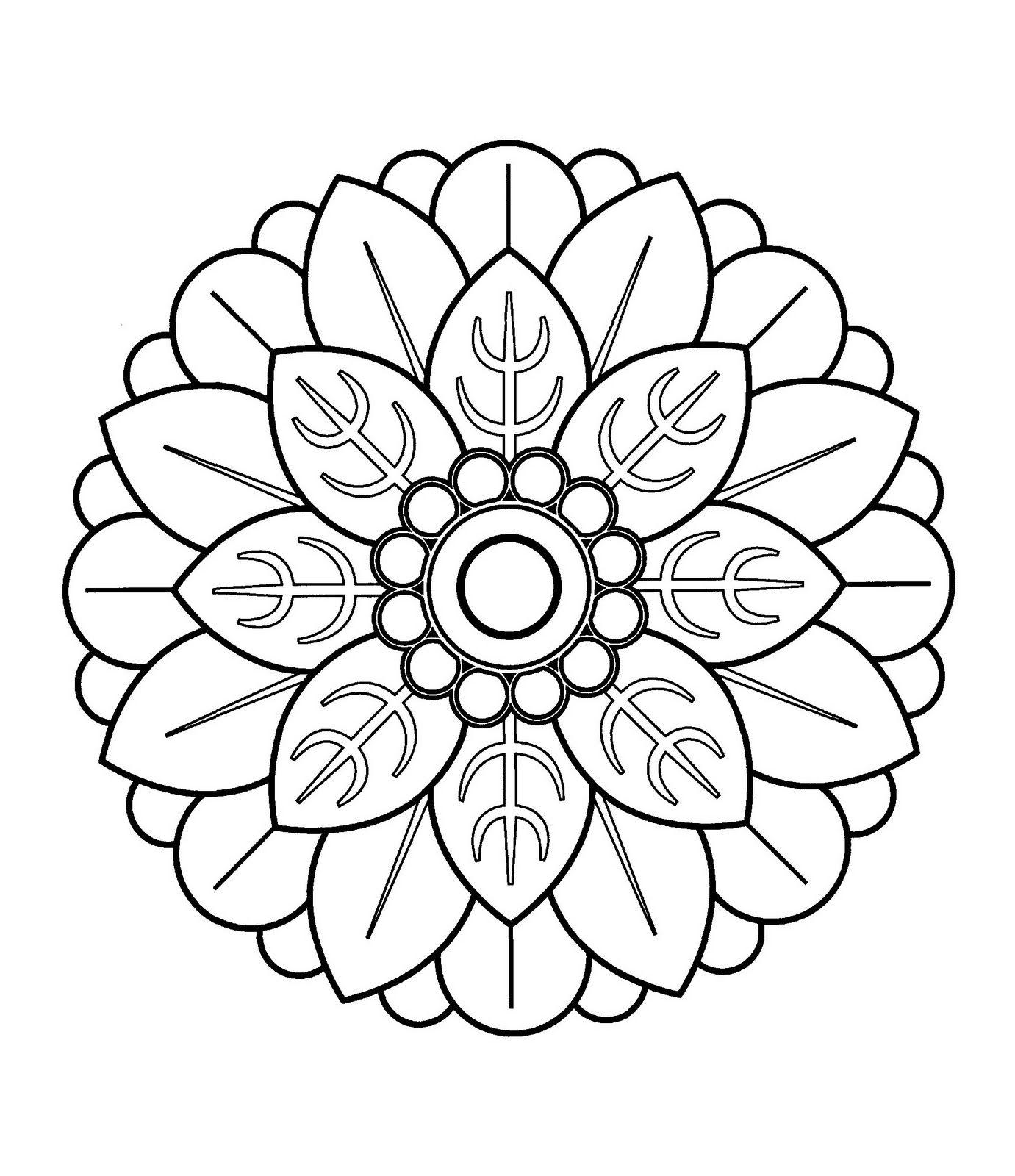 Mandalas Para Pintar: Mandala chino III | Coloring pages | Pinterest ...