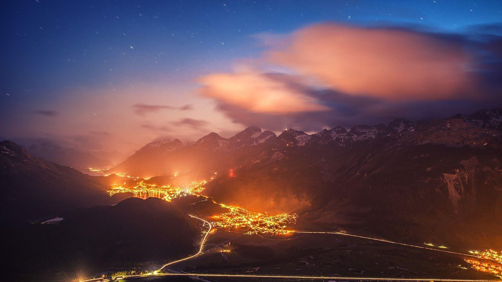 خلفيات طبيعية عالية الجودة 4k Ultra Hd Tecnologis Night Sky Wallpaper Landscape Wallpaper Full Hd Wallpaper