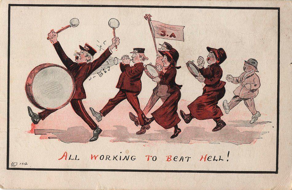 Postkarte von 1912 #heilsarmee