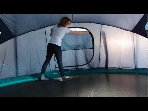 tutoriel vid o de montage de la tente igloo france trampoline pour trampoline kids camping. Black Bedroom Furniture Sets. Home Design Ideas