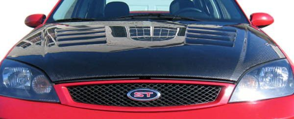 2005-2007 Ford Focus Carbon Creations OEM Hood - 1 Piece (clearance)