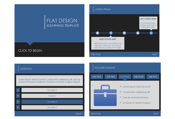 Nice template layout and usability, plus good info! | Captivate 7 ...
