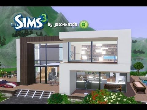 The Sims 3 Building A Modern House High Hill House