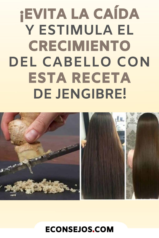 ¡Evita la caída y estimula el crecimiento del cabello con esta receta de jengibre!