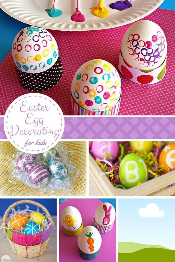 sc 1 st  Pinterest & 10 Easter Egg Decorating Ideas for Kids