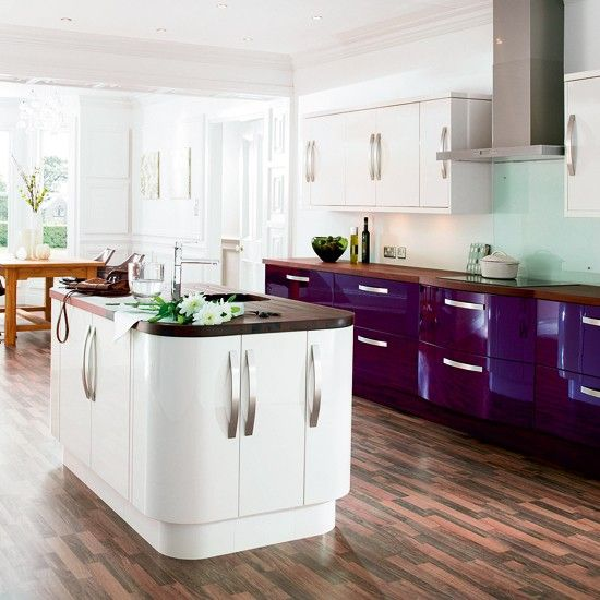 Kitchen Ideas Gloss mineraltallics trend - our pick of the best | gloss kitchen