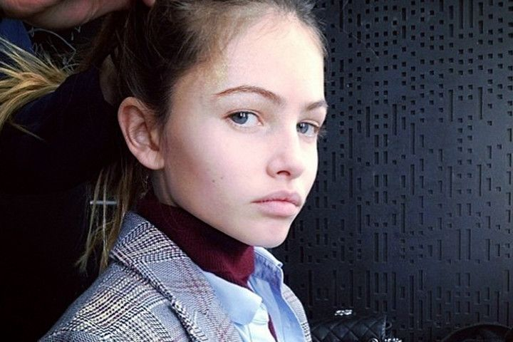 Meet the new KateMoss Thirteen-year-old French fashion model Thylane Blondeau.