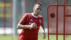 Ribery still with ankle problems | FC Bayern Munich | Ahead of Matchday 3 | - Bundesliga - official website