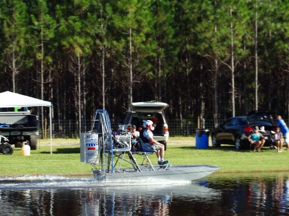 Hog Waller Airboat Races in Palatka, Florida Sept 21st