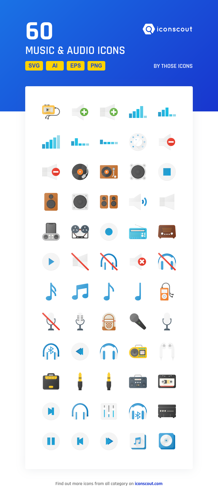 Download Music Audio Icon Pack Available In Svg Png Eps Ai Icon Fonts Icon Set Design Icon Pack Flat Icon