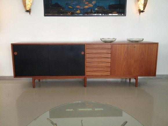 Vintage Arne Vodder Sideboard Zurich Vintage Mobel Mobel Furniture Furniture