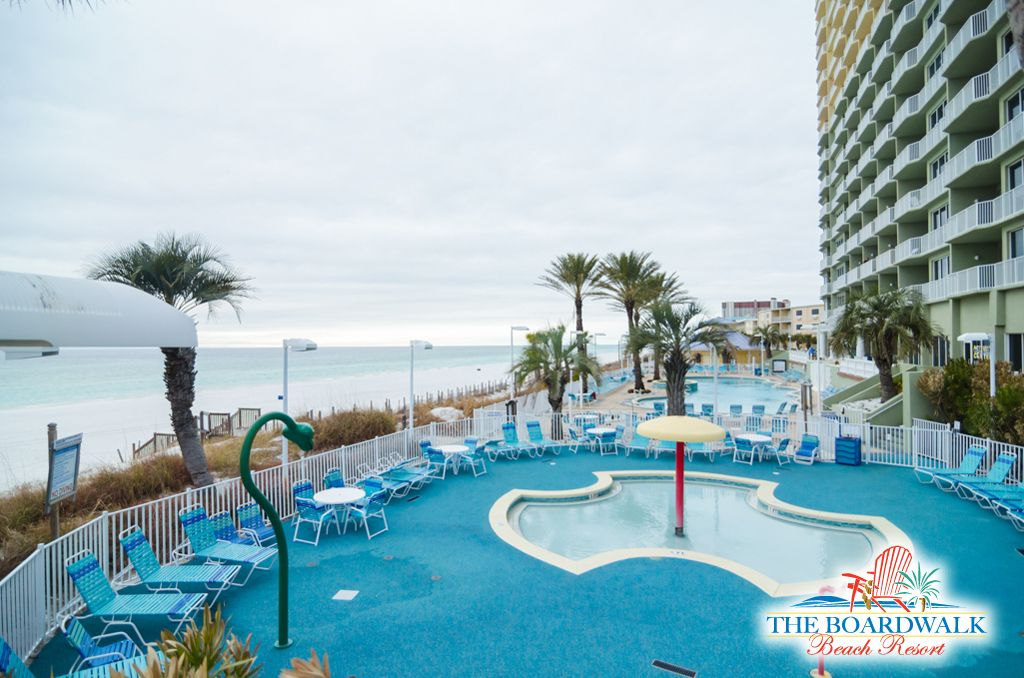 Boardwalk Beach Resort Condo Panama City Beachfront One Bedroom Condos
