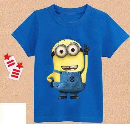 1a3ae54b71 Camisas dos Monion - azul Meu Malvado Favorito, Produtividade, Loja De  Crianças, Minions