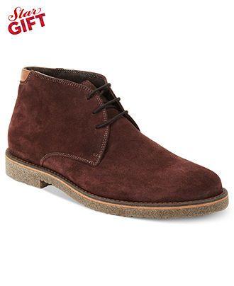 Alfani Boots, Lancer Suede Chukka Boots