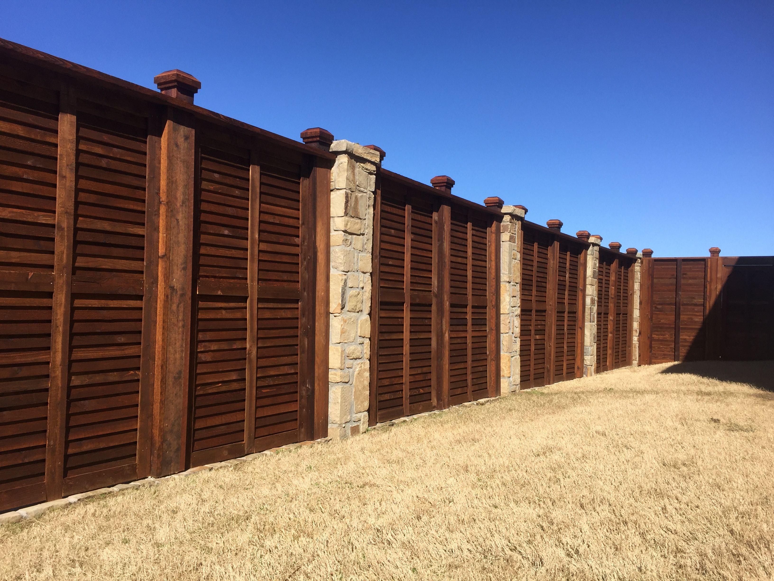 Pin on Horizontal Fence